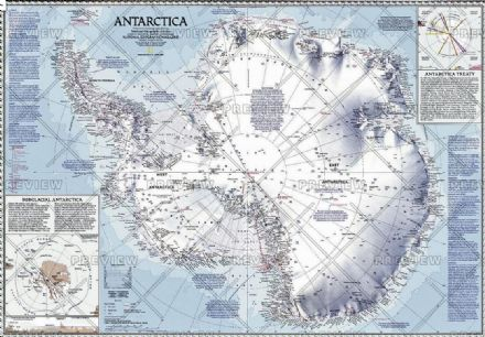 Antarctica - Published 1987 by National Geographic